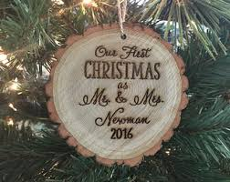 personalized ornaments wedding gifts for the etsy