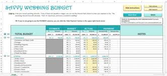 wedding planning on a budget wedding planning spreadsheets paso evolist co