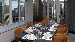 Private Dining Rooms Chicago The Ritz Carlton Residences Chicago Magnificent Mile