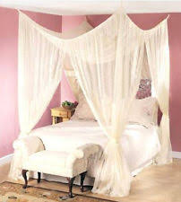 modern bed canopies and netting ebay