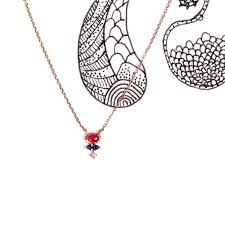 pink chain necklace images Guccino necklace maschio gioielli milano shop online jpg