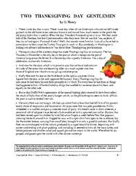 henry two thanksgiving day gentlemen study guide 14 pgs ans