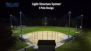 led ball field lighting musco lighting playability demonstration youtube