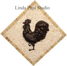 Kitchen Tile Murals Backsplash In Stock Tile Murals And Mosaic And Metal Accent And Medallions