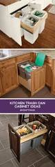 kitchen cabinet recycle bins best 25 recycling bins for kitchen ideas on pinterest kitchen
