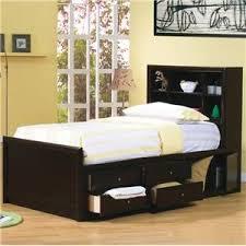 White Bookshelf Headboard by 25 Best Bookcase Bed Ideas On Pinterest White Bedside Drawers
