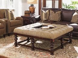 Animal Print Chairs Living Room by Furniture Animal Print Ottoman Circle Ottoman Light Brown