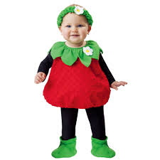 infant halloween costume totally ghoul strawberry vest infant halloween costume size 1t 2t