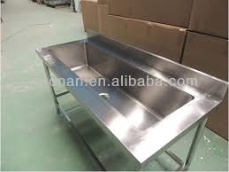 Restaurant Stainless Steel Large Hand Wash Basin SinkLarge Single - Restaurant kitchen sinks
