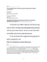 Assist Letter Of Demand Demand Letter California Cease And Desist Letter Harassment