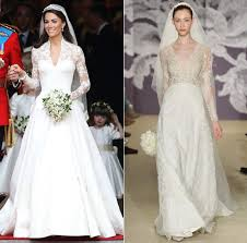 wedding dress new york new york bridal week the royal wedding dresses that made a comeback