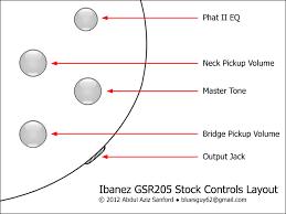 gsr205 stock wiring soundgear series ibanez forum