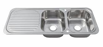 double bowl kitchen sink stainless steel inset kitchen sink double bowl with drainer wastes