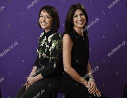 trading spaces hildi tlc trading spaces portrait session tca winter stock photos
