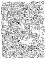 free printable coloring pages unicorns magical unicorn