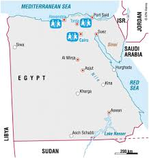 Egypt Africa Map by Egypt Sos Children U0027s Villages United Kingdom