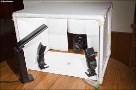 a portable lightbox studio for macro