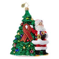 christopher radko ornaments charity awareness