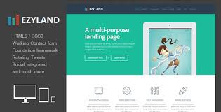 splash page templates from themeforest