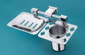 bathroom shoo holder soap dish with brush holder bathroom accessories set satyam