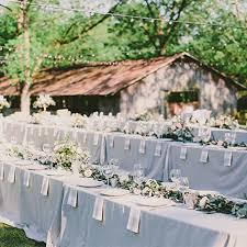 wedding reception table decorations banquet style wedding tables brides