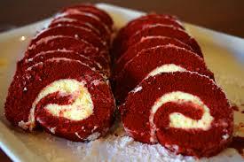 red velvet cake roll u2013 rou u0027s sweet corner