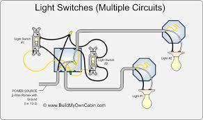 light switch wiring diagram lights