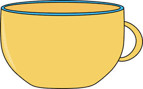 tea cup clipart large cup pencil and in color tea cup clipart