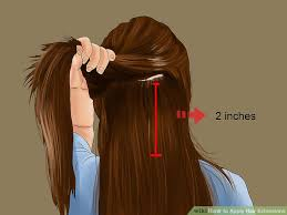 hair extensions in hair 3 ways to apply hair extensions wikihow