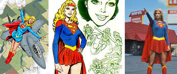 supergirl superwoman historical timeline 1938 1986 mary sue