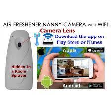 Spy Camera In Bathroom Air Freshener Spy Camera For Smartphones Spy Cameras