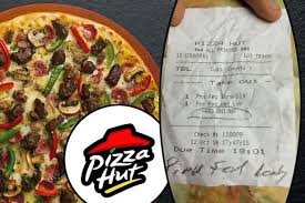 pizza hut help desk phone number pizza hut apologise after staff left highly insulting note on