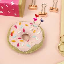 sewing kit craft diy donut diy kits diy crafts gifts for