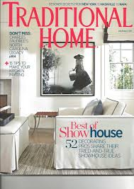 traditional home magazine features o u0027more college of design