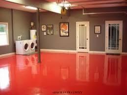 Epoxy Paint For Basement Floor by Best 25 Garage Floor Paint Ideas On Pinterest Painted Garage