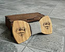 Mens Valentines Gifts Superman Bow Tie Groomsmen Gift Superman Gift Valentines Gifts For
