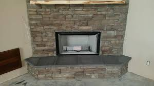 stacked stone fireplace columns and bbq u2013 ocala stone finish