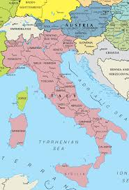 Cities In Italy Map by Italy And Austria Map U2022 Mapsof Net