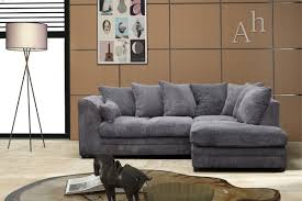 grey fabric corner sofa dylan jumbo cord light grey fabric corner group sofa right hand