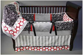 Gray Crib Bedding Sets by Preston Red Baby Bedding 2344 299 00 Modpeapod We Make