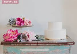 wedding cake diy diy boho wedding cake green wedding shoes
