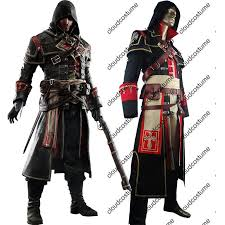 Assassins Creed Halloween Costume Kids Assassin U0027s Creed Rogue Shay Patrick Cormac Cosplay Costume