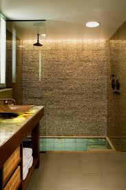 Sunken Bathtub Soaking Tub Shower Bathroom Rustic With Sunken Bathtub Traditional