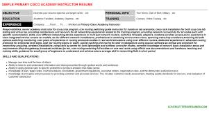 police academy instructor resumes u0026 cover letters