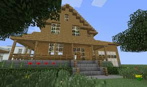 farm house minecraft swanky ranch house bachelor pad minecraft project