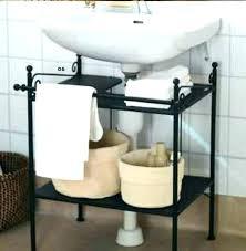 under pedestal sink storage cabinet pedestal sink storage cabinet over sink storage shelf for pedestal