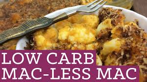 low carb cauliflower mac and cheese mind over munch episode 19