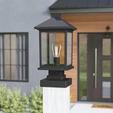 outdoor pier mount lights 17 stories leroy coastal outdoor 1 light beveled glass pier mount