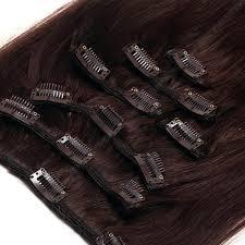 clip in hair clip in hair extensions 100 remy hair 2 brown hair