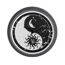 awesome yin yang shaped moon and sun wf